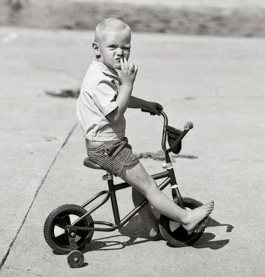 Young Boy on Bicycle, Bapsfontein, East Rand, South Africa, 1983